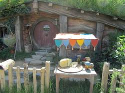 Food Stand at Hobbiton