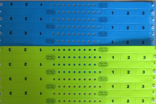 3-Tab Vinyl Entrybands