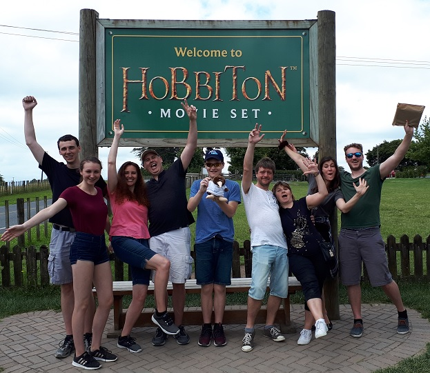 Hobbiton Tour Group 2019