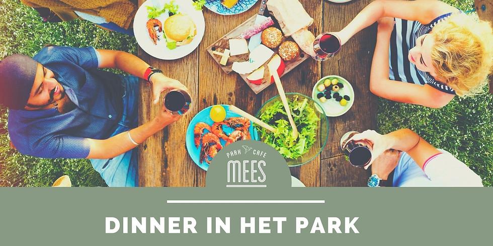 Dinner in het Park (zaterdag 3 juli)