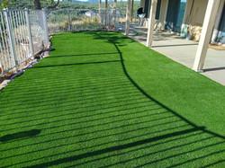 Artificial turf installation!
