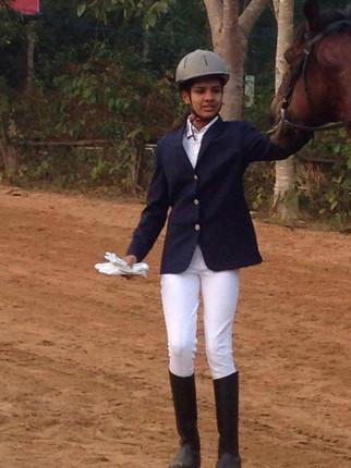 Young Mira rocking that Riding jacket