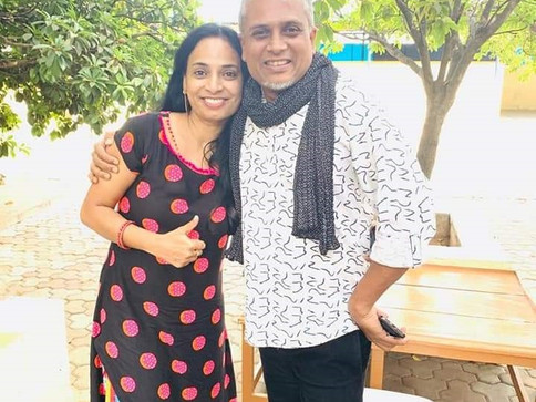 with Deepak Shinde