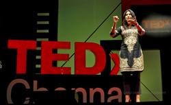 Speaker at TEDx Chennai