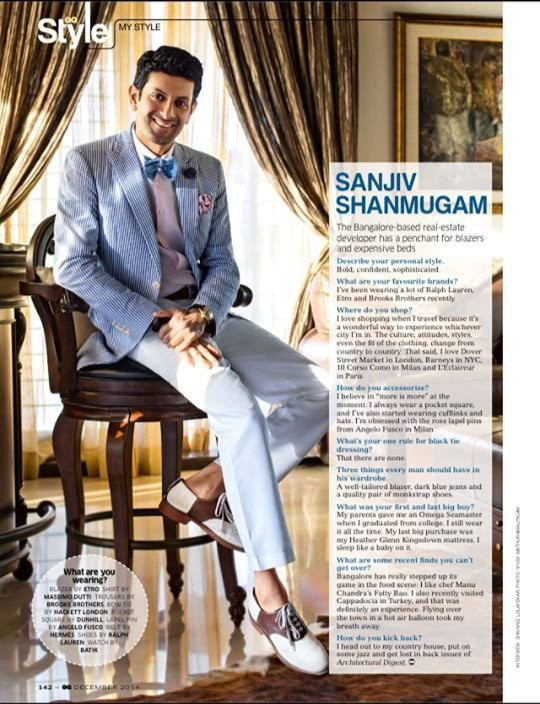 Sanjiv Shanmugam styled by Studio BAS