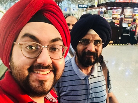 with Ishan Arora & Charanjeet Singh