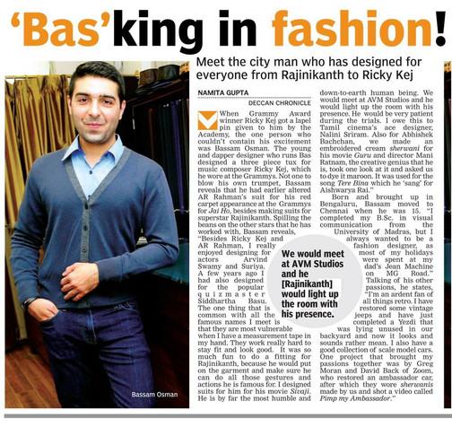 'BAS'king in fashion!