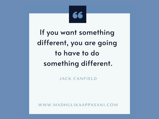 If you want something different, you are going to have to do something different