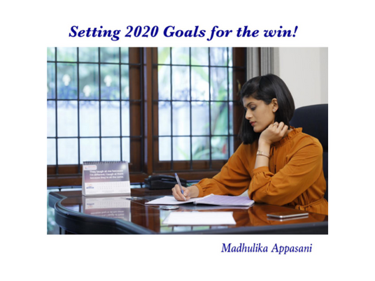 Setting 2020 goals for the win!