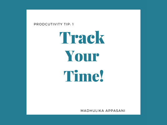 Tip 1: Track your time