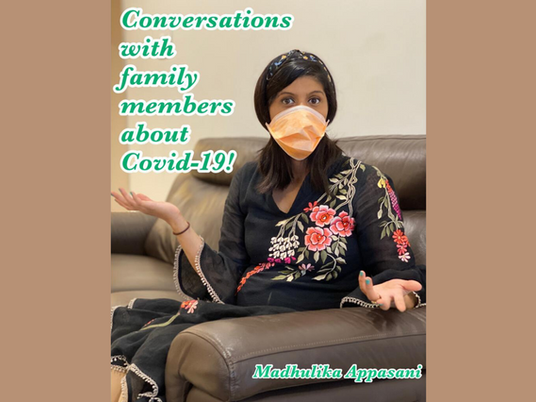 Conversations with family members about COVID-19