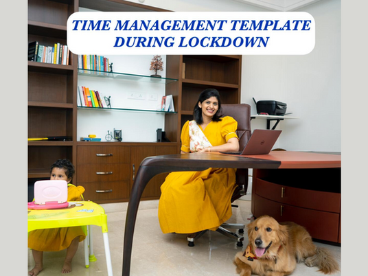 Time Management Template During Lockdown