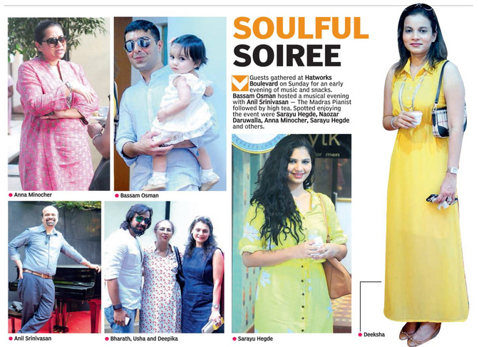 Soulful Soiree with Anil Srinivasan