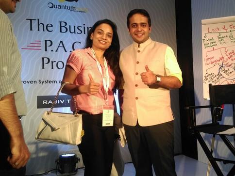 with Rajiv Talreja