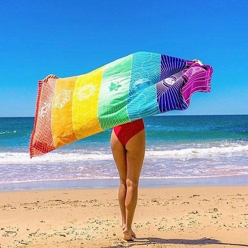 Rainbow Beach/Yoga Mat