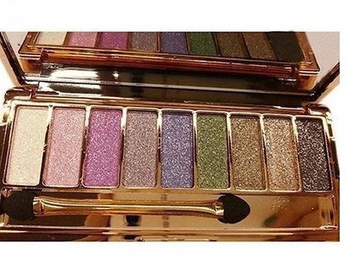 9 Color Waterproof Sparkle Eyeshadow Pallet
