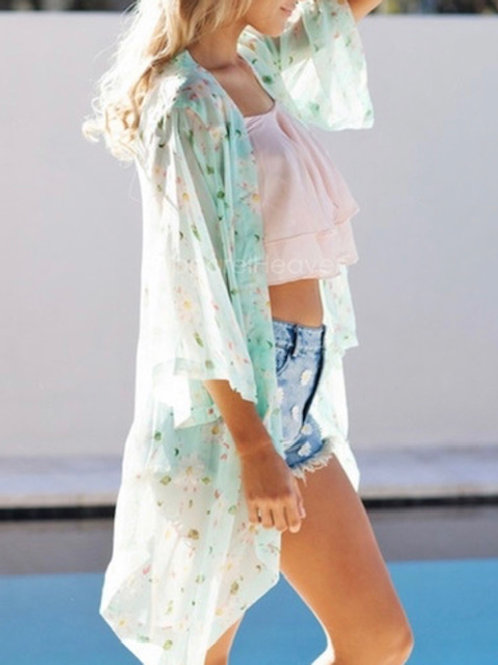 Floral Summer Coverup