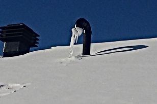 event toiture gelé