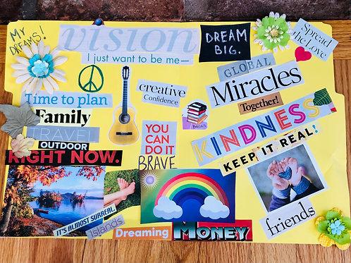 Family Vision Board Kit