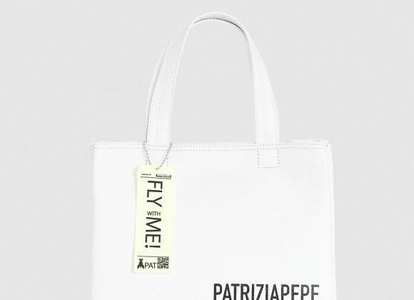 Patrizia Pepe Shopper White