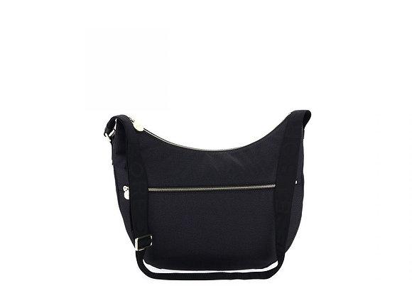 Borbonese - Luna Bag Medium nero