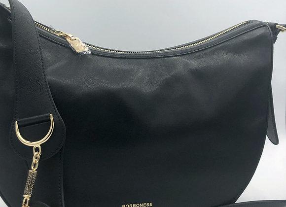 Borbonese - Luna Bag Middle nera