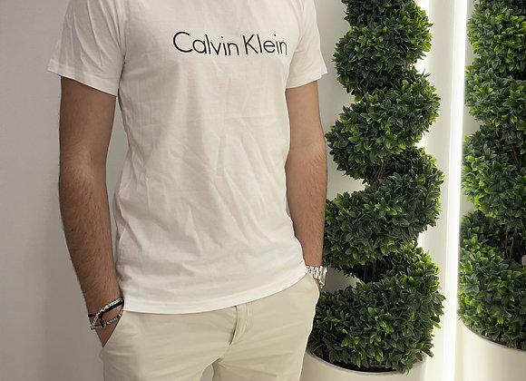 Calvin Klein T-shirt con logo nero