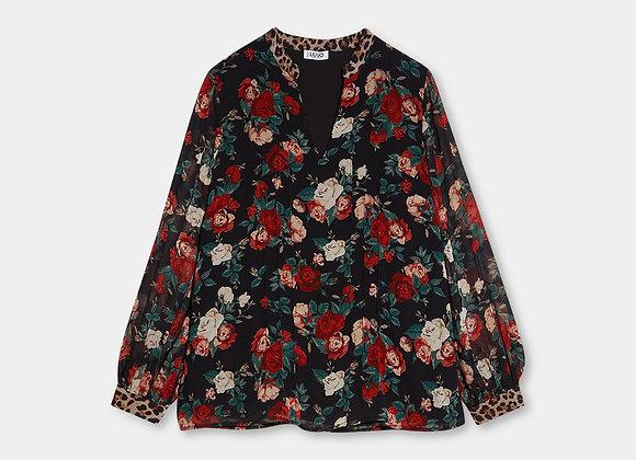 Blusa in georgette Di Liu-Jo