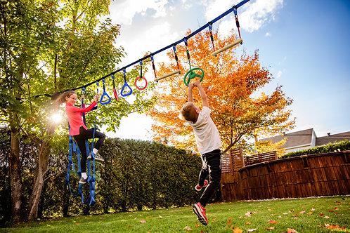 Ninja Warrior Obstacle Cousre For Kids