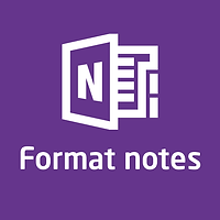 formatnotes onenote.png
