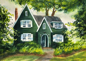Maddox Home #2 12 x 16