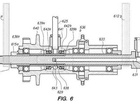 US Patent 8757232 Monitoring and Changing Air Pressure in a Rotating Wheel
