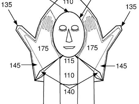 Layover Travel Pillow - U.S. Patent 8205283
