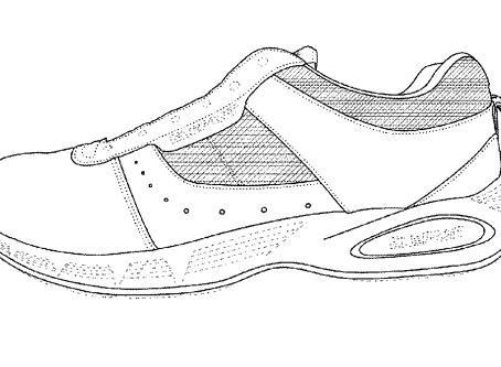 Designer Shoes - U.S. Design Patent No. D743152
