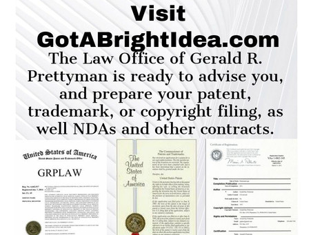 Protecting Ideas with a Patent, Trademark or Copyright