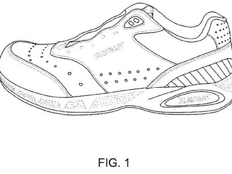 Designer Shoes - U.S. Design Patent No. D743151