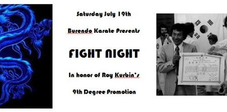 Fight Night hosted by Burendo Karate