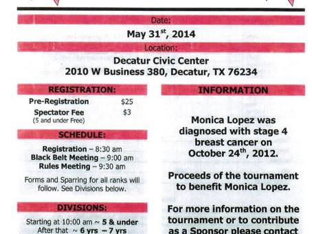 Monica Lopez Open Karate Tournament