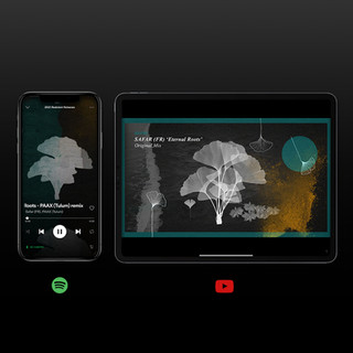 Spotify canvas + Animated cover para 'Eternal Roots'