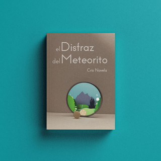 El Disfraz del Meteorito · Diseño de portada