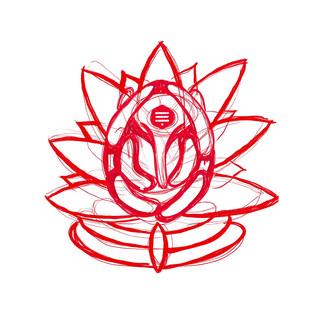 Ganesh La Santa · Diseño de estampado