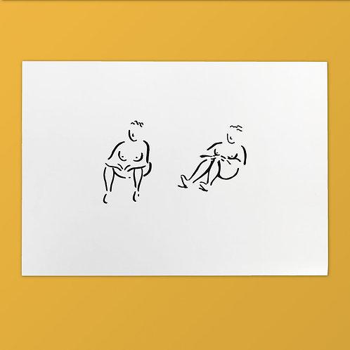 Serigrafía Tati · Serie Mis Gorditas