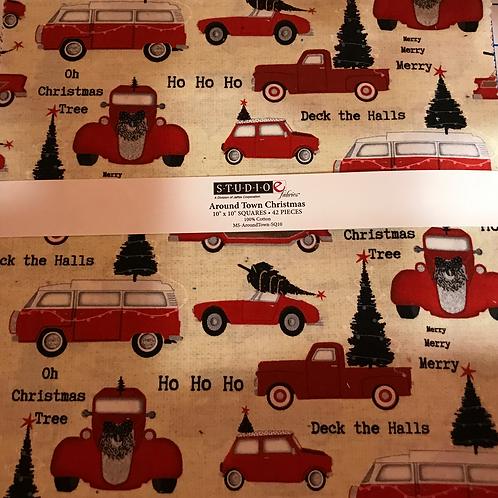 Around Town Christmas ~ Studio E Fabrics