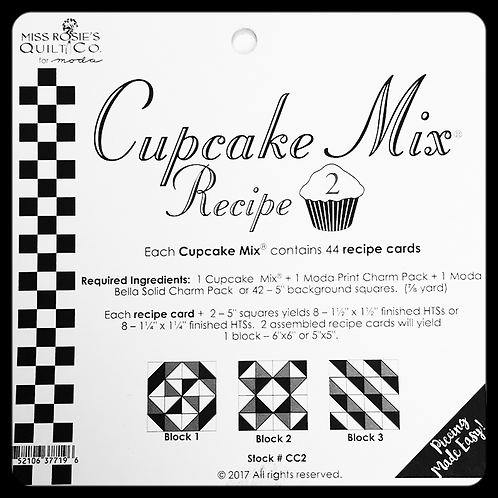 "5"" Cupcake Mix Recipe 2"