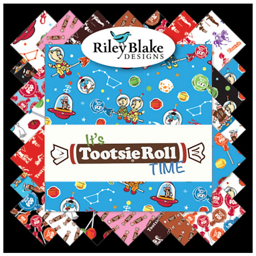 It's Tootsie Roll Time by Riley Blake Designs