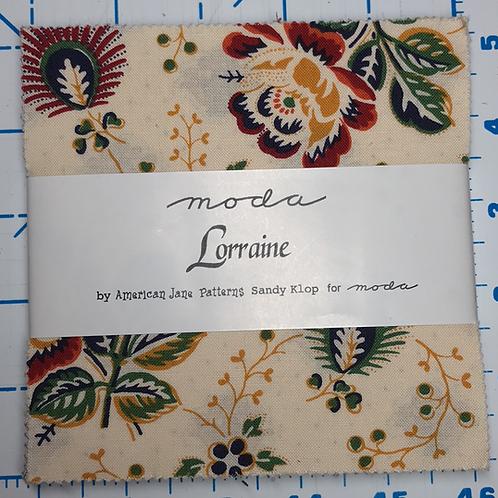 Lorraine by Moda Charm Pack