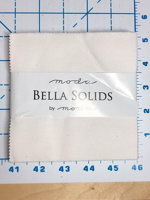 White Bella Solids by Moda