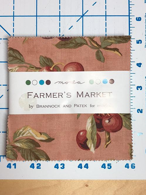 """Farmer's Market by Brannock and Patek for Moda 5"""" Charm Pack"""