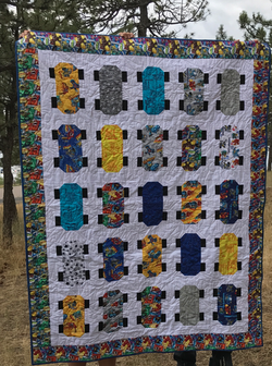 The Skate Board Quilt