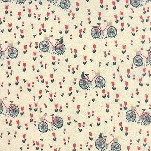Bicyclette in Creme (30413-11) - Moda - Mon Ami by BasicGrey -